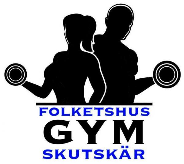 logotype folkets hus gym